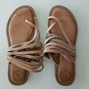 """Gee WaWa """"Meadow"""" Strappy Sandals from Anthro"""